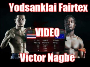 Fight of the Week 8 – Yodsanklai Fairtex Vs Victor Nagbe