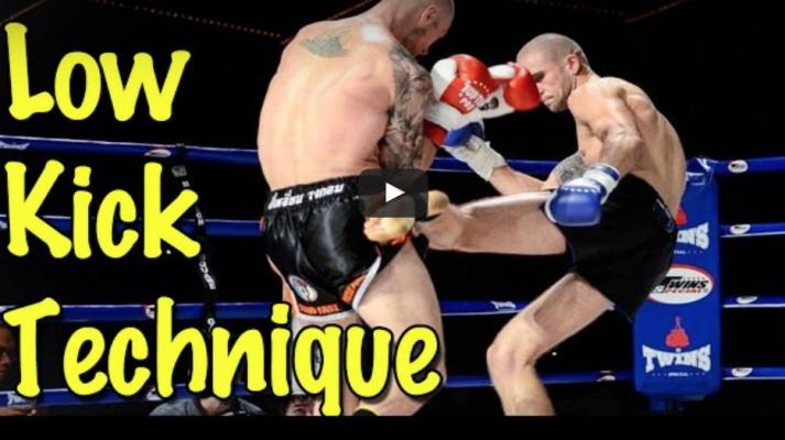 Low Kick Technique – Judging Distance