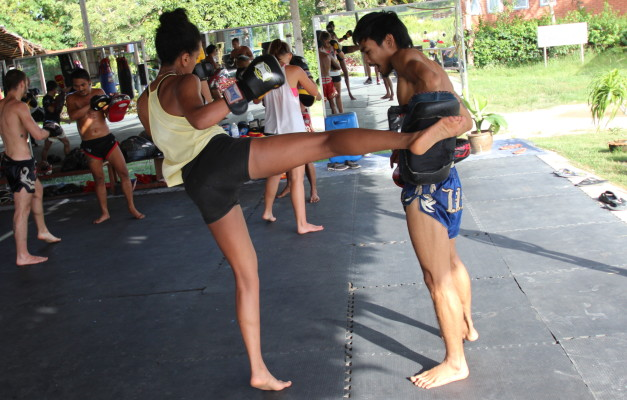 Kicking Perfection Drill for Muay Thai