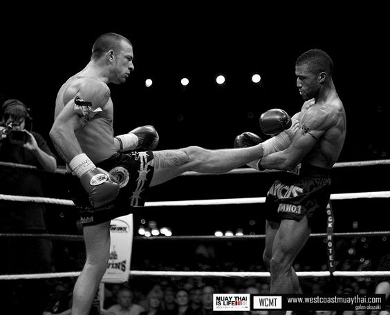 How to Teep Catch Escape in Muay Thai