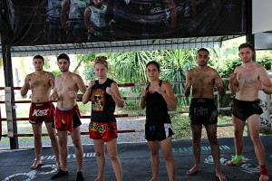 The First Week of Thailand Fight Camp