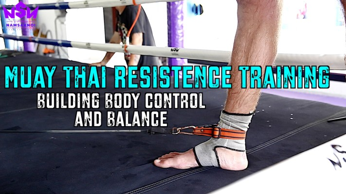 Training Control, Balance, and Power for Muay Thai