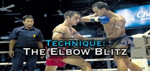 Elbow Blitz Combination – Muay Thai Video Tutorial
