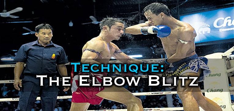 Elbow Blitz Combination – Muay Thai Video Tutorial