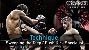 Sweeping the Teep & Push Kick Specialist by Ognjen Topic