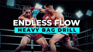 The Endless Flow Drill [Dutch Style Kickboxing] | Solo Bag Drill
