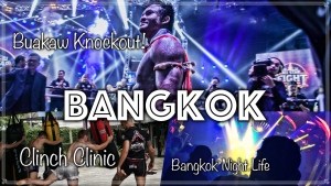 Buakaw KO, Saenchai, Pakorn All Star Show. Bangkok Night Life. Coconut Hunting. | The Limitless Project Travel