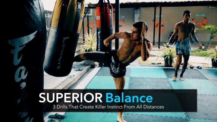 3 Killer Instinct & Balance Combinations on the Heavybag