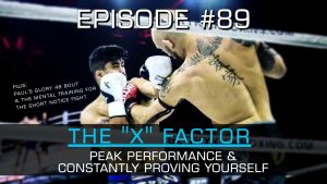 """The """"X"""" Factor, Performance, and Constantly Proving Yourself 