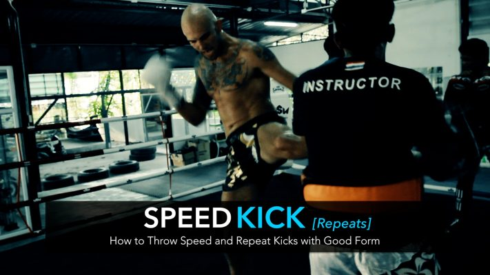 How to Throw Thai Style Speed and Repeat Kicks | Video Tutorial
