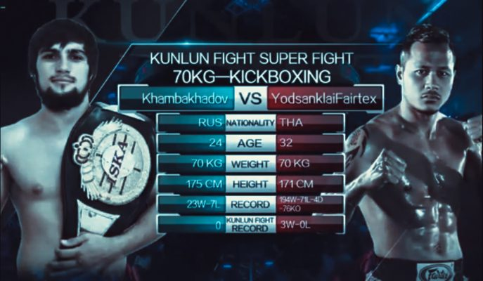 Fight of the Week: Yodsanklai Fairtex vs Sayfullah Khambakhadov