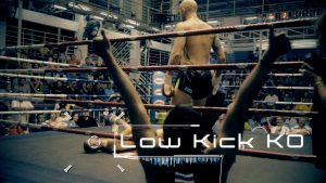 "Aggressive Low Kick Tricks ""Right Leg Hospital. Left Leg Cemetery."""
